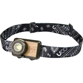 UCO Hundred hoofdlamp Black Bandana zwart